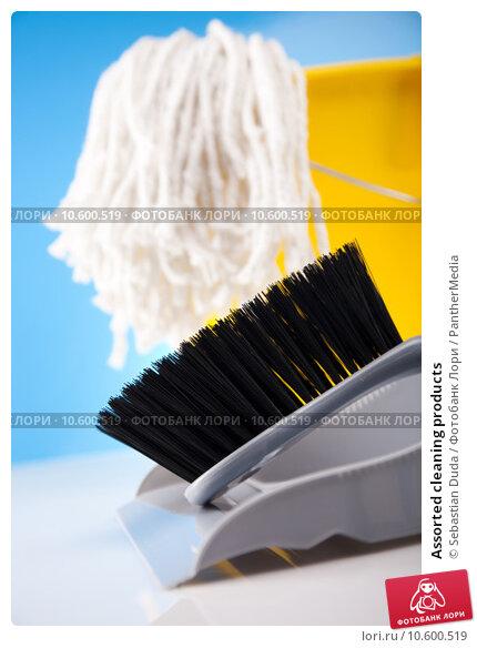 Assorted cleaning products. Стоковое фото, фотограф Sebastian Duda / PantherMedia / Фотобанк Лори