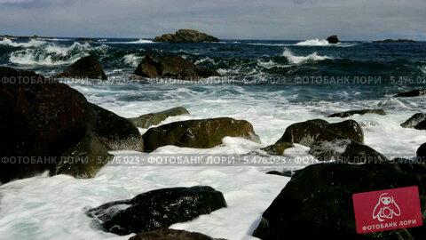Купить «Атлантический океан», видеоролик № 5476023, снято 11 января 2014 г. (c) Валерий Назаров / Фотобанк Лори