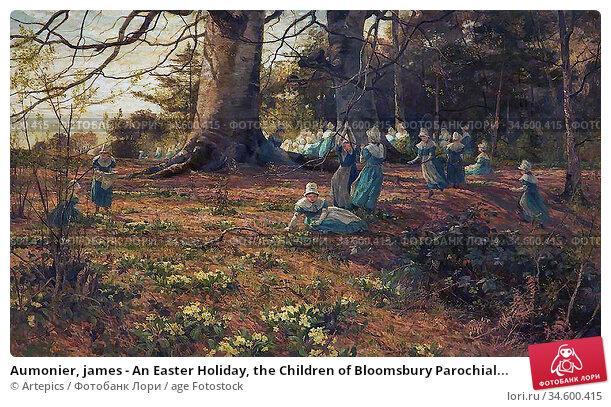 Aumonier, james - An Easter Holiday, the Children of Bloomsbury Parochial... Стоковое фото, фотограф Artepics / age Fotostock / Фотобанк Лори