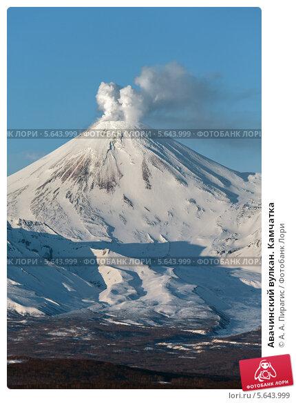 Авачинский вулкан. Камчатка, фото № 5643999, снято 25 февраля 2014 г. (c) А. А. Пирагис / Фотобанк Лори