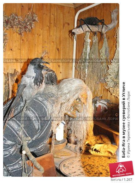 Купить «Баба-Яга в музее суеверий в Угличе», эксклюзивное фото № 1267, снято 11 ноября 2005 г. (c) Ирина Терентьева / Фотобанк Лори