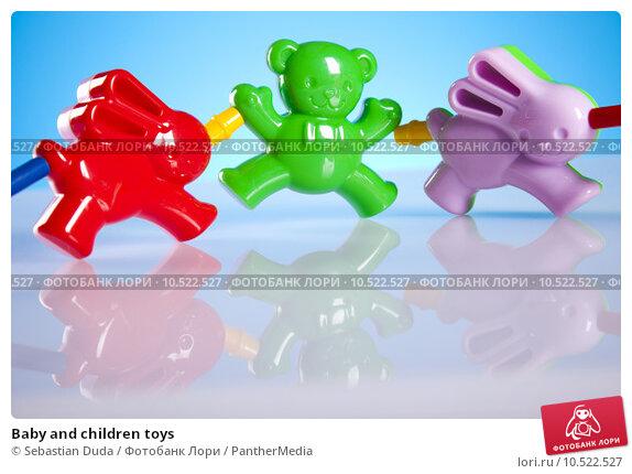 Купить «Baby and children toys», фото № 10522527, снято 19 июня 2019 г. (c) PantherMedia / Фотобанк Лори