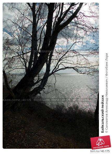 Байкальский пейзаж, фото № 40175, снято 15 октября 2006 г. (c) Саломатов Александр Николаевич / Фотобанк Лори