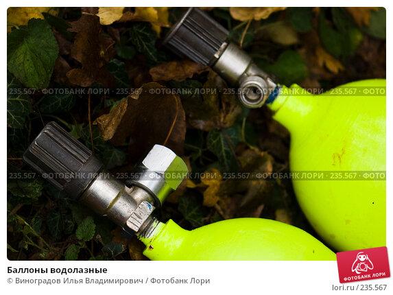 Баллоны водолазные, фото № 235567, снято 29 октября 2007 г. (c) Виноградов Илья Владимирович / Фотобанк Лори