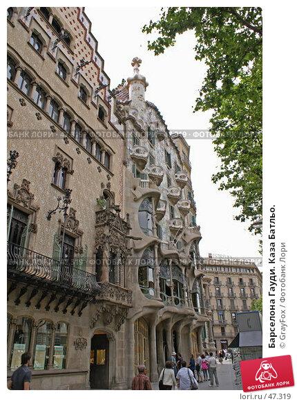 Барселона Гауди. Каза Батльо., фото № 47319, снято 22 мая 2007 г. (c) GrayFox / Фотобанк Лори