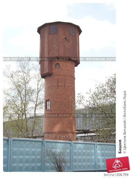 Купить «Башня», фото № 258759, снято 22 апреля 2008 г. (c) Цветков Виталий / Фотобанк Лори