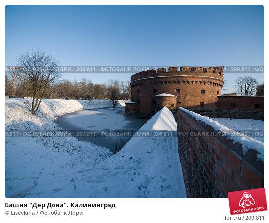 """Башня """"Дер Дона"""". Калининград, фото № 209811, снято 2 января 2008 г. (c) Liseykina / Фотобанк Лори"""