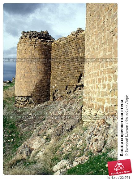 Башня и крепостная стена, фото № 22971, снято 28 октября 2006 г. (c) Валерий Шанин / Фотобанк Лори