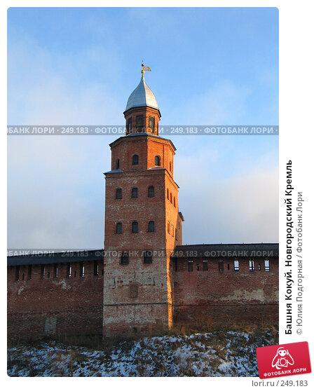 Башня Кокуй. Новгородский Кремль, фото № 249183, снято 13 декабря 2004 г. (c) Юлия Селезнева / Фотобанк Лори