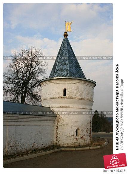 Башня Лужецкого монастыря в Можайске, фото № 45615, снято 31 марта 2007 г. (c) АЛЕКСАНДР МИХЕИЧЕВ / Фотобанк Лори