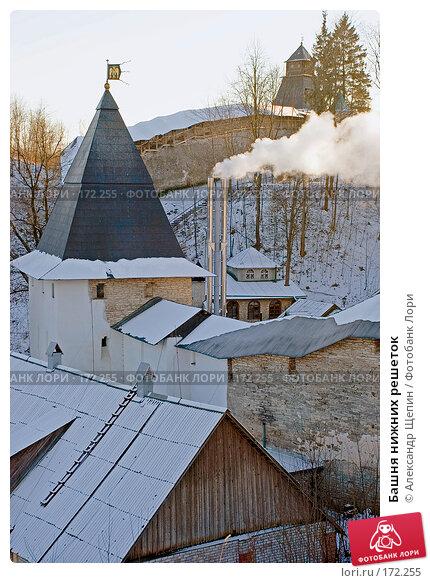 Башня нижних решеток, эксклюзивное фото № 172255, снято 4 января 2008 г. (c) Александр Щепин / Фотобанк Лори