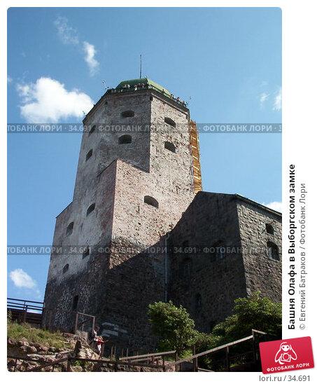 Башня Олафа в Выборгском замке, фото № 34691, снято 2 августа 2003 г. (c) Евгений Батраков / Фотобанк Лори