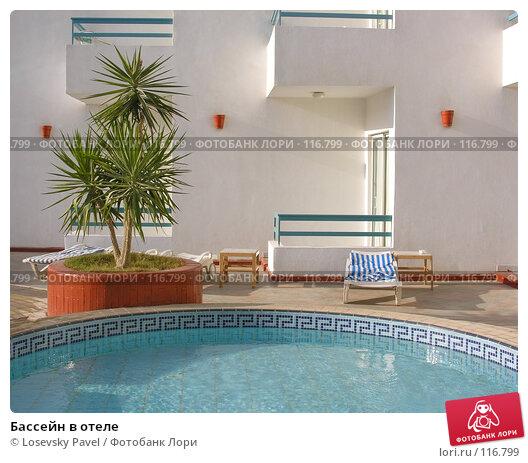 Бассейн в отеле, фото № 116799, снято 7 января 2006 г. (c) Losevsky Pavel / Фотобанк Лори