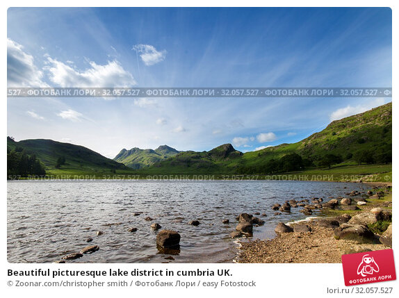 Beautiful picturesque lake district in cumbria UK. Стоковое фото, фотограф Zoonar.com/christopher smith / easy Fotostock / Фотобанк Лори