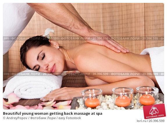 русский массаж фото