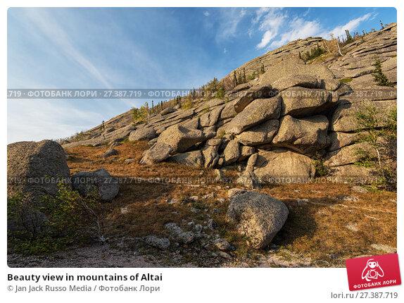 Купить «Beauty view in mountains of Altai», фото № 27387719, снято 10 сентября 2017 г. (c) Jan Jack Russo Media / Фотобанк Лори