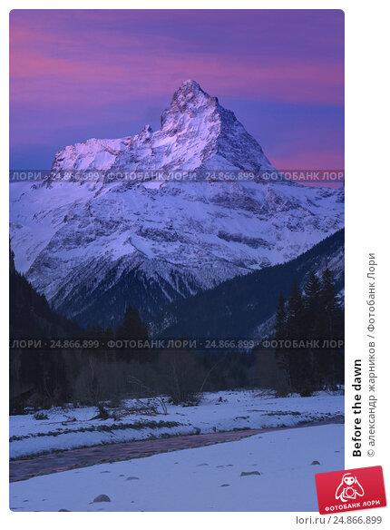 Купить «Before the dawn», фото № 24866899, снято 12 января 2017 г. (c) александр жарников / Фотобанк Лори