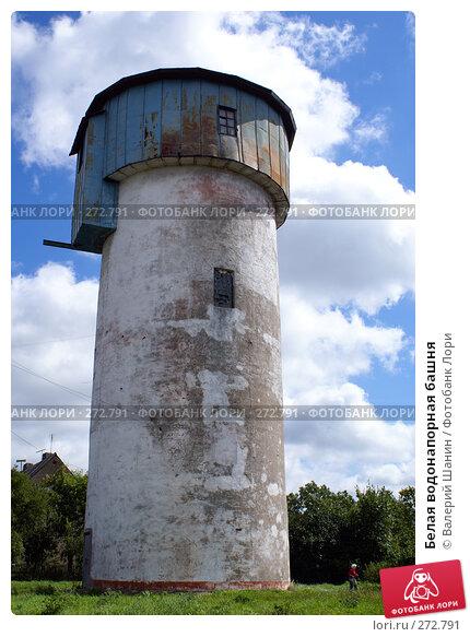 Белая водонапорная башня, фото № 272791, снято 26 июля 2007 г. (c) Валерий Шанин / Фотобанк Лори