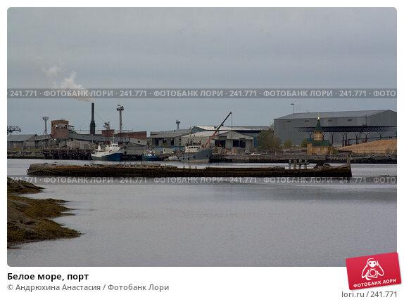 Белое море, порт, фото № 241771, снято 24 сентября 2007 г. (c) Андрюхина Анастасия / Фотобанк Лори