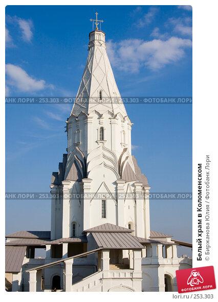 Белый храм в Коломенском, фото № 253303, снято 29 марта 2008 г. (c) Биржанова Юлия / Фотобанк Лори