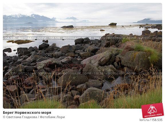 Берег Норвежского моря, фото № 158535, снято 9 августа 2005 г. (c) Cветлана Гладкова / Фотобанк Лори