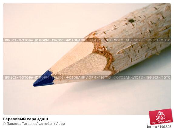 Березовый карандаш, фото № 196303, снято 6 февраля 2008 г. (c) Павлова Татьяна / Фотобанк Лори