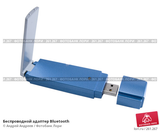 Беспроводной адаптер Bluetooth, фото № 261267, снято 22 апреля 2008 г. (c) Андрей Андреев / Фотобанк Лори