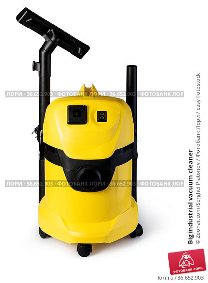 Big industrial vacuum cleaner. Стоковое фото, фотограф Zoonar.com/Serghei Platonov / easy Fotostock / Фотобанк Лори