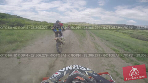 Купить «Bike nature Enduro journey with dirt bike high in the Caucasian mountains, hills, valleys», видеоролик № 28306279, снято 12 апреля 2018 г. (c) Aleksejs Bergmanis / Фотобанк Лори