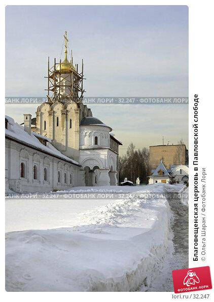 Благовещенская церковь в Павловской слободе, фото № 32247, снято 23 марта 2006 г. (c) Ольга Шаран / Фотобанк Лори