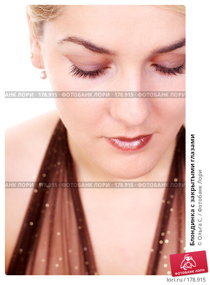 Блондинка с закрытыми глазами, фото № 178915, снято 4 декабря 2007 г. (c) Ольга С. / Фотобанк Лори