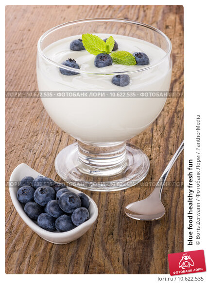 blue food healthy fresh fun. Стоковое фото, фотограф Boris Zerwann / PantherMedia / Фотобанк Лори
