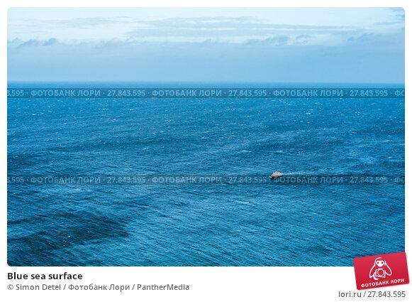 Купить «Blue sea surface», фото № 27843595, снято 16 июля 2019 г. (c) PantherMedia / Фотобанк Лори