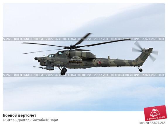Купить «Боевой вертолет», фото № 2827263, снято 19 августа 2011 г. (c) Игорь Долгов / Фотобанк Лори