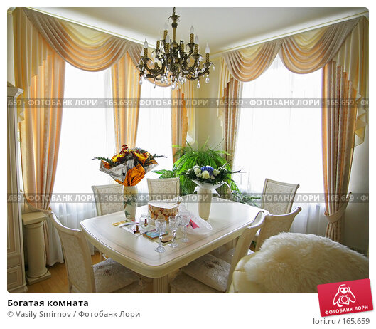Богатая комната, фото № 165659, снято 8 сентября 2007 г. (c) Vasily Smirnov / Фотобанк Лори