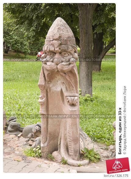 Купить «Богатырь, один из 33-х», фото № 326175, снято 16 июня 2008 г. (c) Эдуард Межерицкий / Фотобанк Лори
