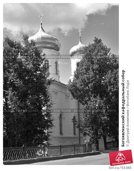Богоявленский кафедральный собор, фото № 53043, снято 21 июля 2006 г. (c) Дмитрий Алимпиев / Фотобанк Лори
