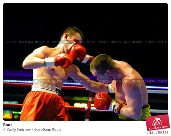 Бокс, фото № 59875, снято 29 января 2004 г. (c) Vasily Smirnov / Фотобанк Лори