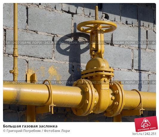 Большая газовая заслонка, фото № 242251, снято 28 апреля 2017 г. (c) Григорий Погребняк / Фотобанк Лори