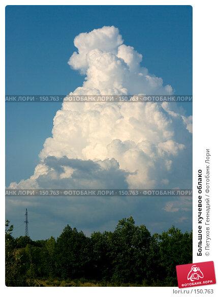 Большое кучевое облако, фото № 150763, снято 15 августа 2007 г. (c) Петухов Геннадий / Фотобанк Лори