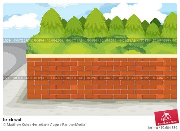 brick wall. Стоковая иллюстрация, иллюстратор Matthew Cole / PantherMedia / Фотобанк Лори