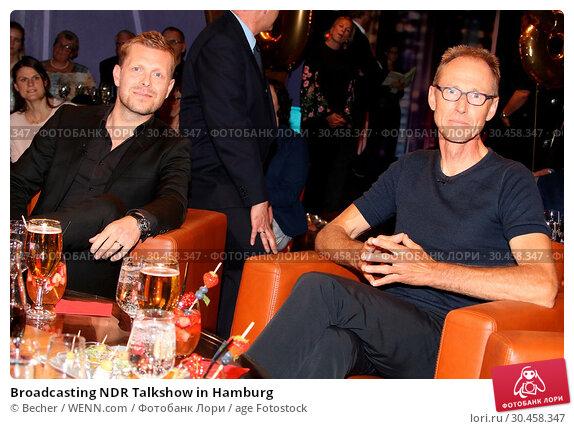 Broadcasting NDR Talkshow in Hamburg (2017 год). Редакционное фото, фотограф Becher / WENN.com / age Fotostock / Фотобанк Лори