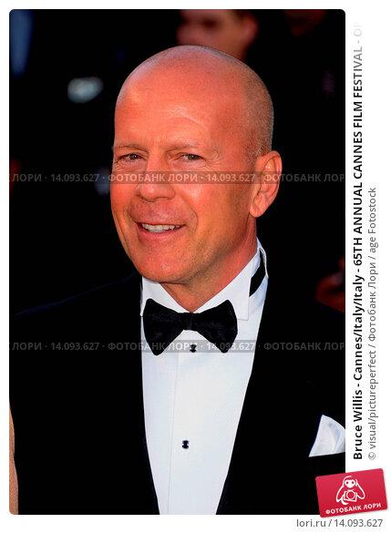 Купить «Bruce Willis - Cannes/Italy/Italy - 65TH ANNUAL CANNES FILM FESTIVAL - OPENING NIGHT AND PREMIERE OF MOONRISE - NO ITALIAN SALES», фото № 14093627, снято 16 мая 2012 г. (c) age Fotostock / Фотобанк Лори