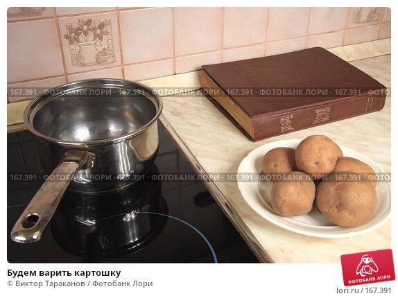 Купить «Будем варить картошку», эксклюзивное фото № 167391, снято 5 января 2008 г. (c) Виктор Тараканов / Фотобанк Лори