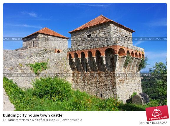 building city house town castle. Стоковое фото, фотограф Liane Matrisch / PantherMedia / Фотобанк Лори