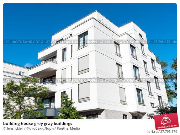 Купить «building house grey gray buildings», фото № 27795179, снято 21 февраля 2018 г. (c) PantherMedia / Фотобанк Лори