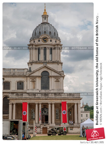 Buildings at Greenwich University, the old home of the British Navy... (2017 год). Редакционное фото, фотограф WENN.com / age Fotostock / Фотобанк Лори