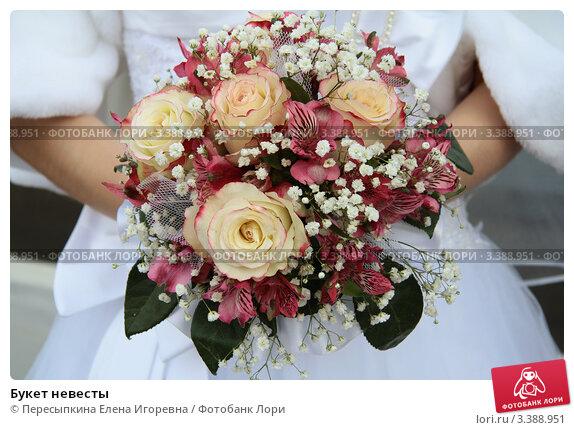 Букет невесты. Стоковое фото, фотограф Пересыпкина Елена Игоревна / Фотобанк Лори