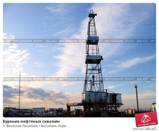 Бурение нефтяных скважин, фото № 268427, снято 21 июня 2007 г. (c) Вячеслав Паслёнов / Фотобанк Лори