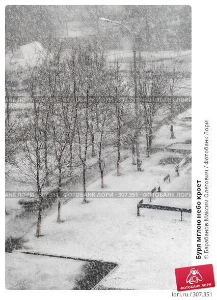 Купить «Буря мглою небо кроет», фото № 307351, снято 1 апреля 2008 г. (c) Барабанов Максим Олегович / Фотобанк Лори
